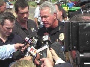 Police PR interview
